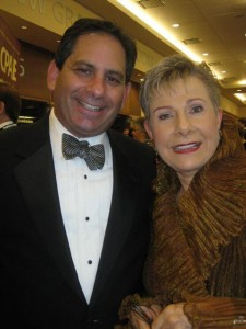 With Patricia Fripp at NSA Hall of Fame Dinner, 2012 in Indianapolis, IN