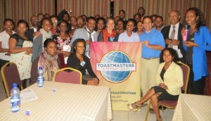 Guest Speaker at Imperial Toastmasters, Ethiopia