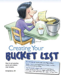 Creating Your Bucket List Artwork