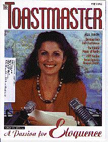 March 2006 edition of Toastmaster magazine