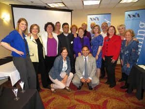 Founder & Dean Craig with 2014-15 graduates of NSANC's Speakers Academy